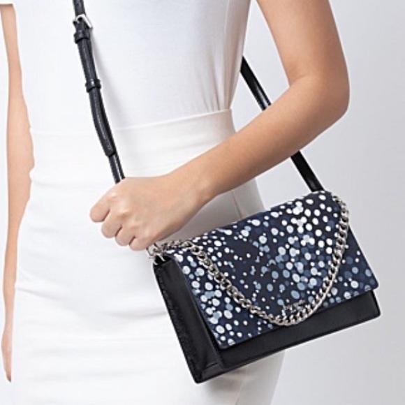 Brand New Kate Spade Convertible Crossbody Chain Cameron Soiree Dot Purse